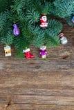Ramas de árbol imperecederas frescas de la Navidad Fotos de archivo libres de regalías