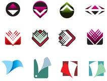 Ramassage 04 de logo Photographie stock libre de droits