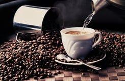 Ramassage 2 de café Image libre de droits