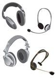 Ramassage d'écouteurs Images libres de droits
