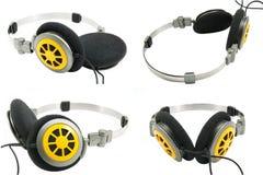 Ramassage d'écouteurs portatifs Image stock