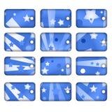 Ramassage d'étiquette ou d'étiquette Photos libres de droits