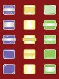 Ramassage d'étiquettes Images libres de droits