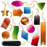Ramassage d'étiquettes et d'étiquettes Image libre de droits