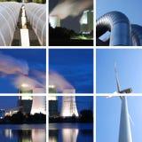 Ramassage d'alimentation d'énergie Photos libres de droits