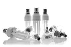 Ramassage d'ampoules assorties Photo libre de droits