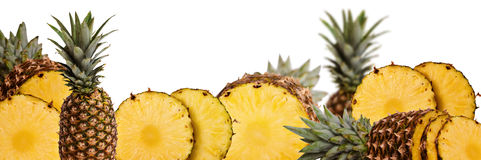 Ramassage d'ananas Images stock