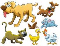 Ramassage d'animaux illustration libre de droits