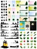 Ramassage d'arbres Photographie stock