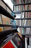 Ramassage d'enregistrements de vinyle Photo libre de droits