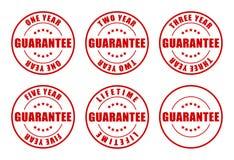Ramassage d'estampilles de garantie illustration libre de droits