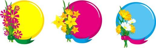Ramassage d'herbes et de fleurs Image libre de droits