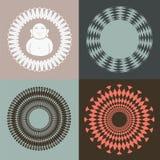 Ramassage d'illusion optique avec Budda Photo libre de droits