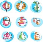 Ramassage d'images de zen Photographie stock libre de droits