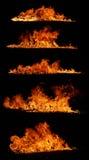 Ramassage d'incendie image stock