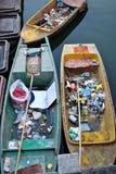 Ramassage d'ordures Photographie stock