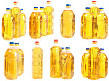 ramassage de bouteilles Images stock