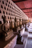 Ramassage de Buddhas, Luang Prabang, Laos. images libres de droits
