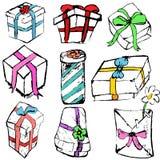 Ramassage de cadeaux Photos stock