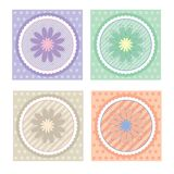 Ramassage de cartes/d'étiquettes de cadeau Images stock