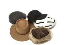 Ramassage de chapeaux Images libres de droits