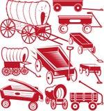 Ramassage de chariot Photo libre de droits