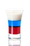 Ramassage de cocktail de projectile : Indicateur russe image stock