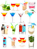 Ramassage de cocktails Photos libres de droits