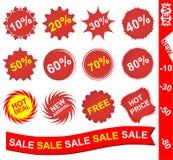 Ramassage de collants rouges Photographie stock libre de droits