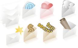 Ramassage de courrier Image libre de droits