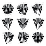 Ramassage de cubes abstraits Images stock