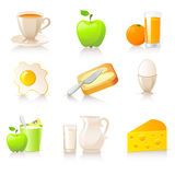 Ramassage de déjeuner Image stock