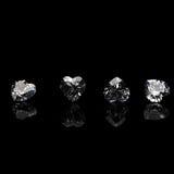 Ramassage de diamant. Pierre gemme Photo libre de droits