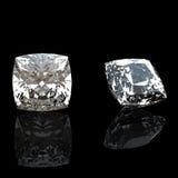 Ramassage de diamant. Pierre gemme Images libres de droits