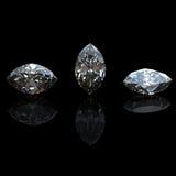 Ramassage de diamant. Pierre gemme Image libre de droits