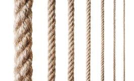 Ramassage de diverses cordes Photo libre de droits