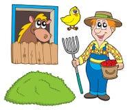 Ramassage de fermier illustration de vecteur