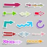Ramassage de flèches Photographie stock libre de droits