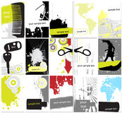 Ramassage de fond grunge abstrait illustration stock