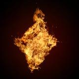 Ramassage de fonte d'incendie photos stock