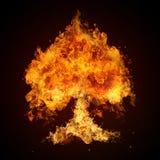 Ramassage de fonte d'incendie photos libres de droits