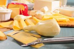 Ramassage de fromage. Les séries, voient plus? Photo libre de droits