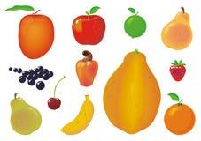Ramassage de fruits Images stock