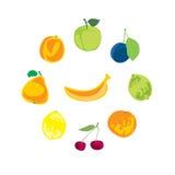 Ramassage de fruits image libre de droits