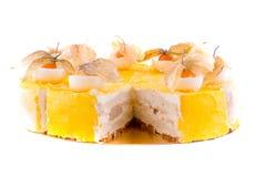 ramassage de gâteau Photographie stock libre de droits