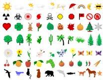 Ramassage de graphisme de nature Photo stock