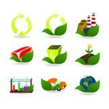 Ramassage de graphismes d'écologie Illustration Stock