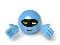 Ramassage de jouet - poussée ici Images stock