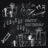 Ramassage de joyeux anniversaire Image stock