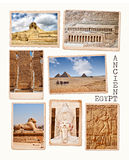 Ramassage de l'Egypte Image stock
